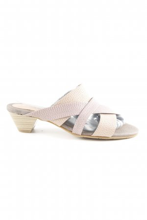 Andrea Conti High Heel Sandal grey brown-mauve casual look