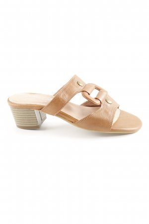 Andrea Conti High Heel Sandal light brown extravagant style