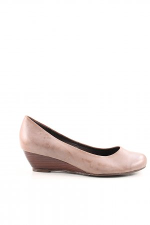 Andrea Conti Keil-Pumps creme Casual-Look