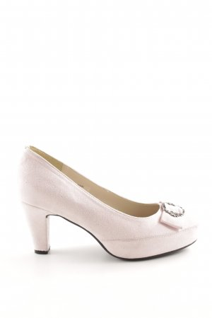 Andrea Conti Plateau-Pumps pink Business-Look