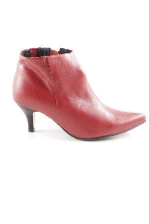 Andrea Conti Laarsjes met rits rood zakelijke stijl