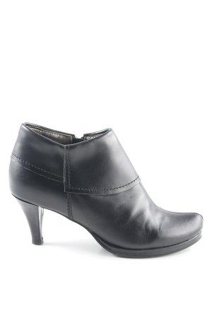 Andrea Conti Reißverschluss-Stiefeletten schwarz Casual-Look
