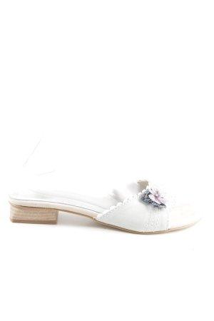 Andrea Conti Strapped Sandals multicolored casual look