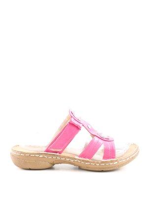 Andrea Conti Riemchen-Sandalen pink-nude Casual-Look