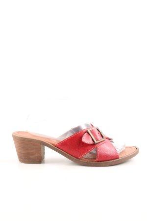 Andrea Conti Riemchen-Sandaletten rot Casual-Look