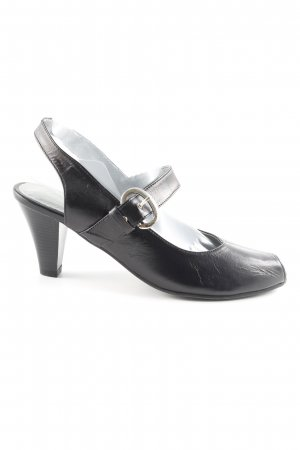 Andrea Conti Strapped pumps black casual look
