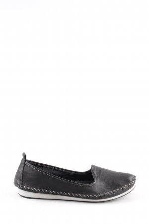 Andrea Conti Slip-on Shoes black casual look