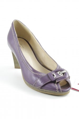 Andrea Conti Loafers lilac casual look