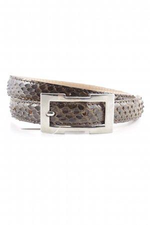 Andrea D'Amico Leather Belt brown classic style
