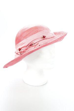 Andrea Kaiser Hut rot-pink extravaganter Stil