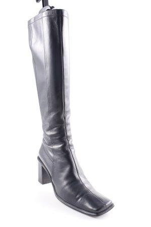 Andrea Manueli Heel Boots black extravagant style