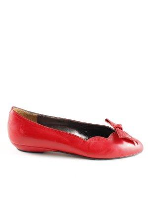 Andrea Manueli Slingback Ballerinas red casual look