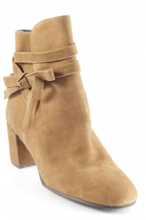Andrea Puccini Ankle Boots cognac Casual-Look
