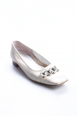 Andrea Puccini Ballerinas creme 90ies-Stil