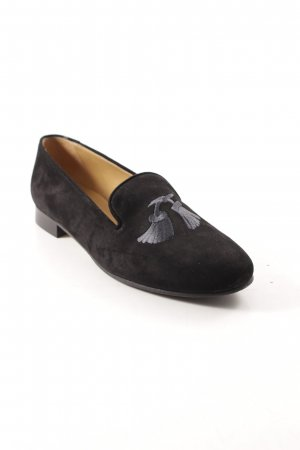 Andrea Puccini faltbare Ballerinas schwarz-grau Street-Fashion-Look