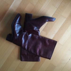 Andrea Puccini Leder Stiefel Größe 39