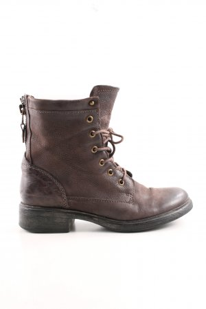 Andrea Sabatini Lace-up Booties grey brown casual look