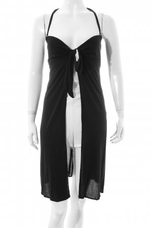 Andres Sarda Halter Dress black-white party style