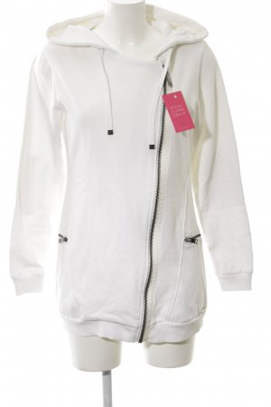 Andrew Marc New York Hoody white-black casual look