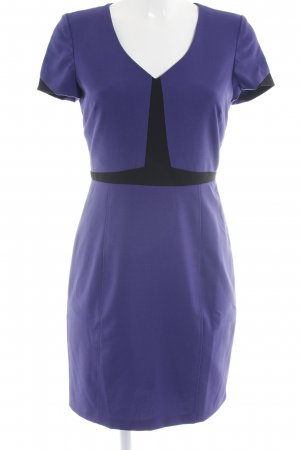 Andrew Marc New York Shortsleeve Dress lilac-black business style