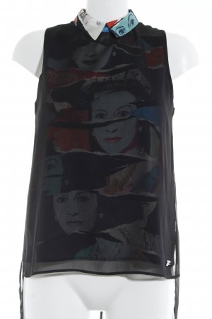 Andy Warhol by Pepe Jeans London Blusentop mehrfarbig extravaganter Stil
