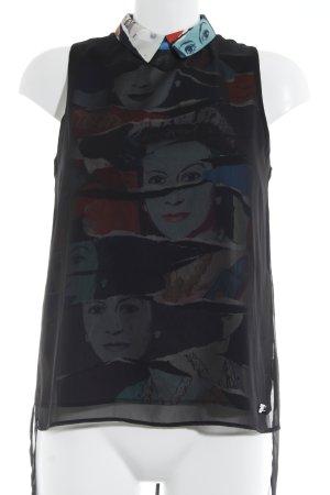 Andy Warhol by Pepe Jeans London Blusentop mehrfarbig extravaganter Stil