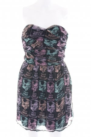 Andy Warhol by Pepe Jeans London Bustierkleid Allover-Druck Casual-Look