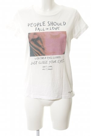 Andy Warhol by Pepe Jeans London T-shirt wit prints met een thema