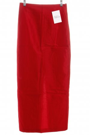 Anett Röstel Maxi Skirt red classic style