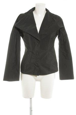 Anette Görtz Korte blazer zwart extravagante stijl