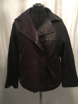 Anette Görtz Leather Jacket dark brown leather