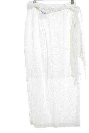 Anette Görtz Falda larga crema estilo clásico