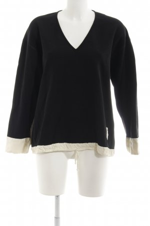 Anette Görtz Knitted Sweater black-natural white casual look