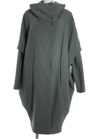 Anette Görtz Manteau d'hiver gris vert style décontracté