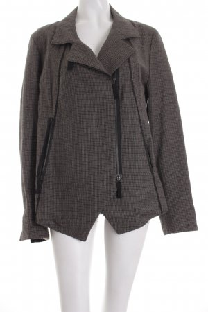 Anette Görtz Wool Blazer light brown-black check pattern casual look