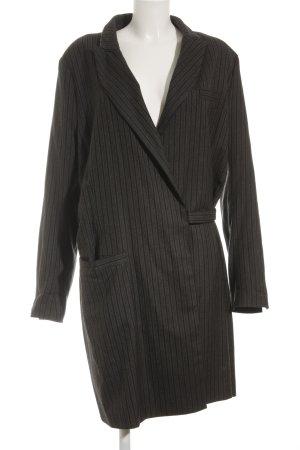 Anette Görtz Abrigo de lana estampado a rayas estilo «business»
