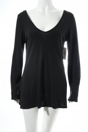 Ange Paris Shirt anthracite flecked casual look