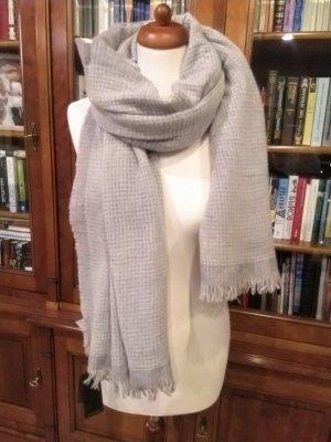 ANGEBOT: Windsor Kaschmir Schal groß grau federleicht NEU mit Etikett