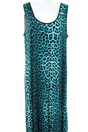 Angel of Style Abito jersey Stampa leopardata stile semplice