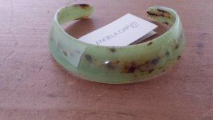 Collier verde chiaro-marrone