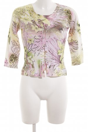 Angela Davis Twin Set tipo suéter allover print casual look