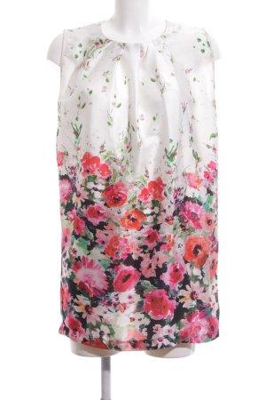 Angela Davis Blusa larga estampado floral look casual