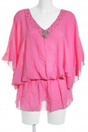 angèle de flore Tunikabluse magenta-pink Beach-Look