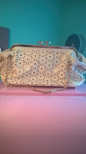 Frame Bag white imitation leather