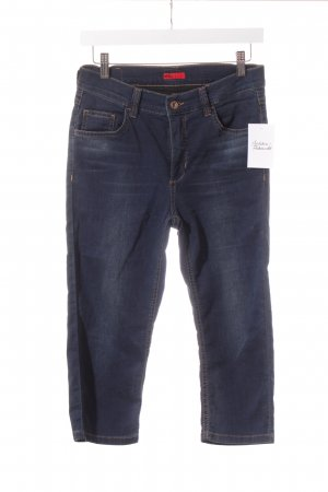 Angels 3/4 Length Jeans dark blue-light brown street-fashion look