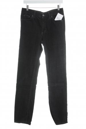 Angels Pantalone di velluto a coste talpa-antracite stile casual