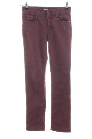 Angels Pantalon cinq poches violet style décontracté