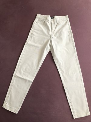 Angels helle Hose weiß/creme Mom-Jeans
