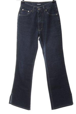 Angels Jeans a vita alta nero stile casual