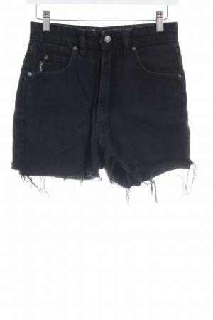 Angels Hot Pants schwarz Destroy-Optik